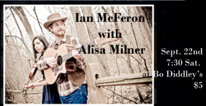 Ian McFeron with Alisa Milner-2012 Sept 19th-Bo Diddleys-MN
